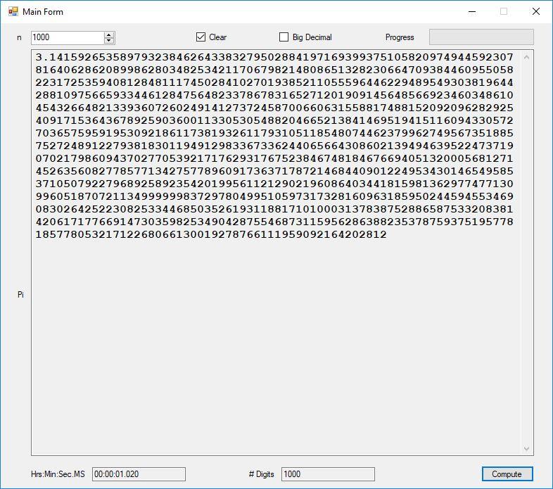 c# bigdecimal